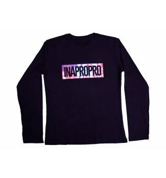 Koszulka longsleeve  z logo INAPOPRO hologram    WYPRZEDAŻ