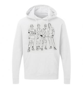 Bluza  biała grafika 4Dreamers