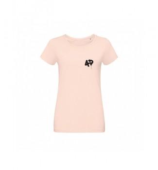 Koszulka pastelowa z logo 4D